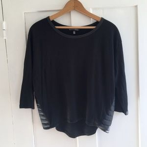 Victoria's Secret Cropped 3/4 Sleeve Top